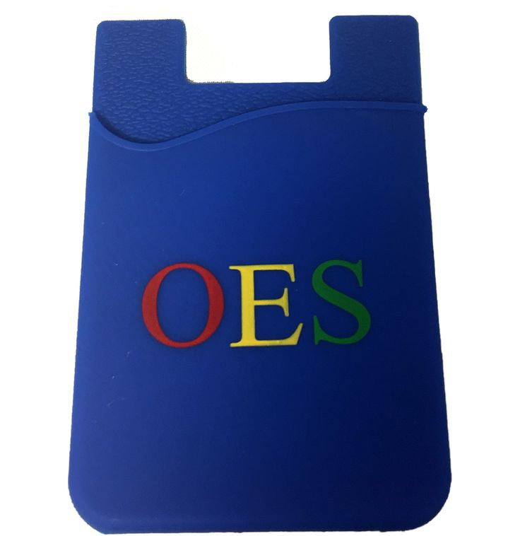 Order of the Eastern Star OES Silicone Wallet - Brothers and Sisters' Greek Store