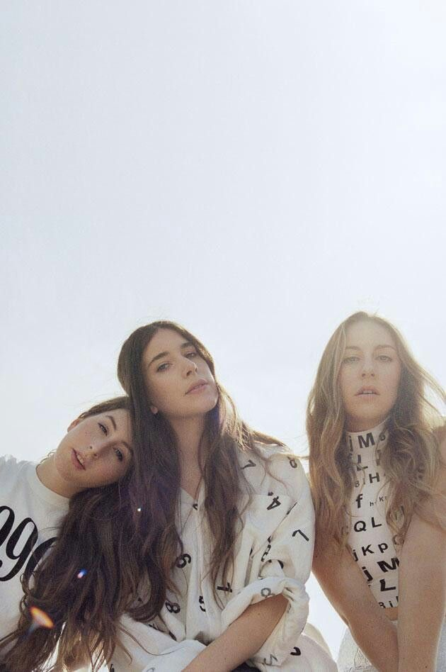 Haim. The ultimate girl band- sisters who play their own instruments and write their own lyrics. I want to be them!