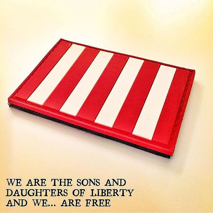 """In honor of the 224th anniversary of the British surrender at Yorktown on Oct 19 1791 we are offering up our #SonsOfLiberty PVC patches for only $5 shipped this week.  The """"Rebellious Stripes"""" flag also known more commonly as the Sons Of Liberty flag is widely regarded as the first official symbol of an organized group of revolutionaries in the American colonies. The Sons Of Liberty flag predates the Betsy Ross flag by at least a decade.  It was in 1767 that the Sons of Liberty adopted the…"""