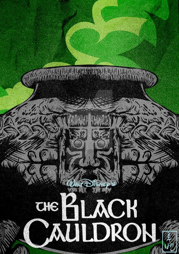 Disney Classics 25 The Black Cauldron by Hyung86 on DeviantArt