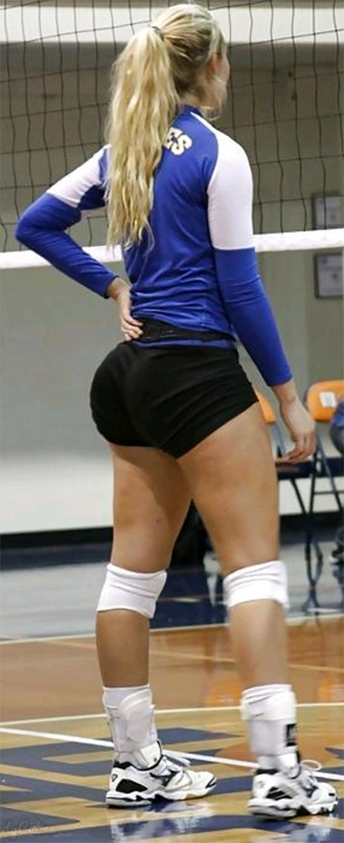 Butts big volleyball girls shorts