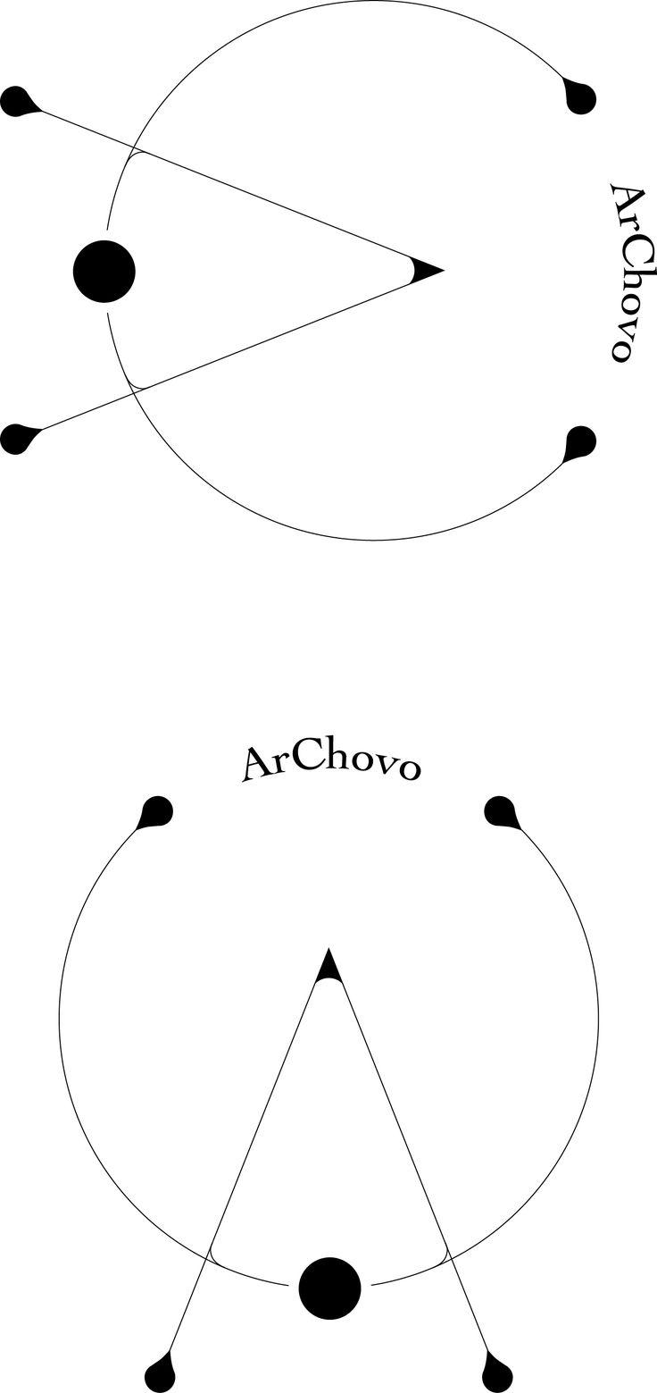 logotype archovo architettura interni design