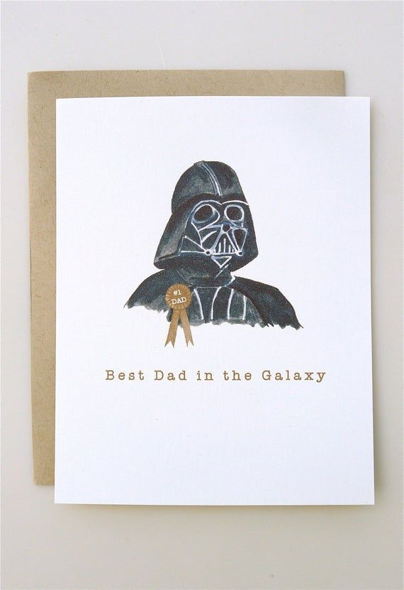 Darth Vader Star Wars Dad Family FATHERS DAY Present Personalised Word Art Print