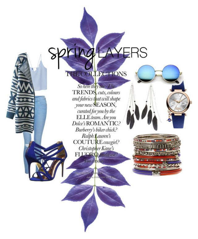 """""""Spring"""" by ginewwra on Polyvore featuring moda, Amrita Singh, New Look, MANGO, Chicnova Fashion, Charlotte Russe, Vivienne Westwood i Ted Baker"""