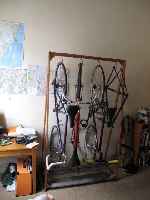 Bike Storage Rack idea