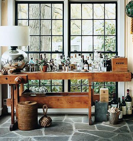 lakehouse bar eclectic porch by thom filicia inc