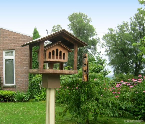 99 best cabanes oiseaux birds house images on pinterest birdhouses gardening and outdoor. Black Bedroom Furniture Sets. Home Design Ideas