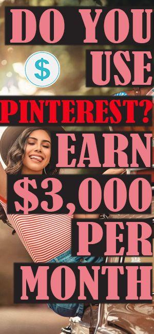 MAKE $3,000 ON PINTEREST AS A BEGINNER!