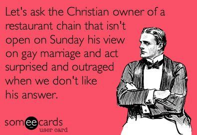 seriouslyThoughts, Real People, Gay Marriage, Laugh, Quotes, Funny Stuff, Chicks Fil A, Freedom Of Speech, Serious