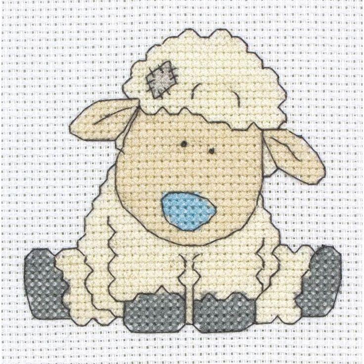 My Blue Nose Friend Cross Stitch Cottonsocks | Hobbycraft
