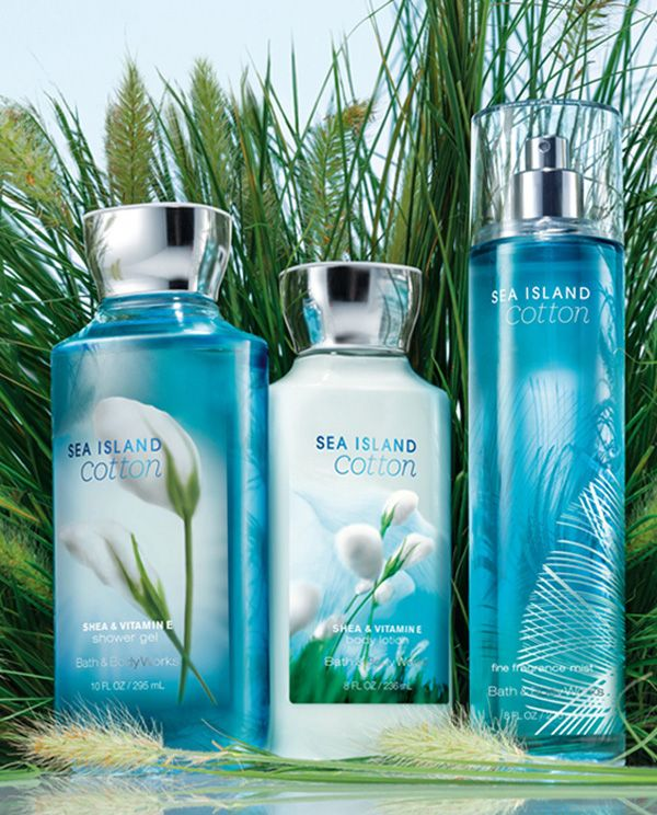 Refresh yourself with #SeaIslandCotton! #dailytrio