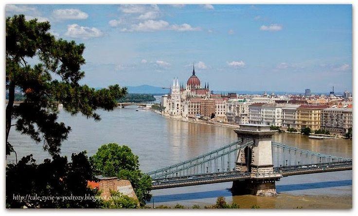 Całe życie w podróży - blog o podróżach po Europie i nie tylko: Buda - spacer po zachodnim brzegu Dunaju