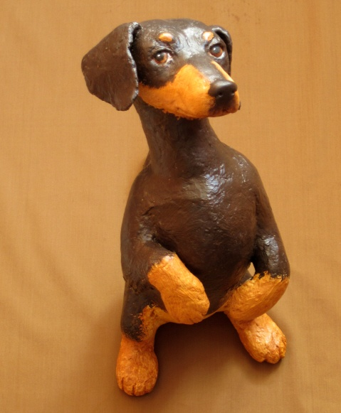 1000 images about paper mache dogs on pinterest animal for Making paper mache animals