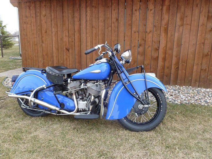 1940 Indian Chief.