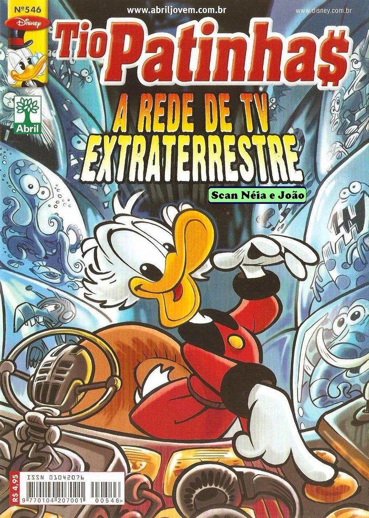Gibis Clássicos: Tio Patinhas n° 546 - Editora Abril