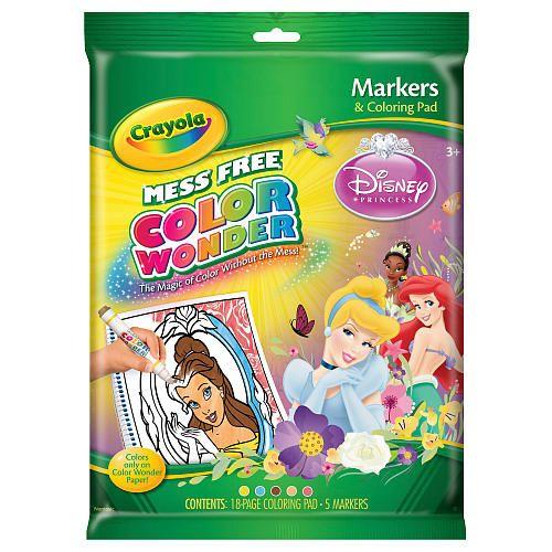 "Crayola Color Wonder Markers and Coloring Pad - Disney Princess -  Crayola - Toys""R""Us"