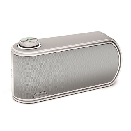 "the small ""GiG"" Portable Speaker in black is designed to put it everywhere for having a better mobile lifestyle | headphones & speakers . Kopfhörer & Lautsprecher . casque/écouteur & enceintes | Design: Klipsch |"