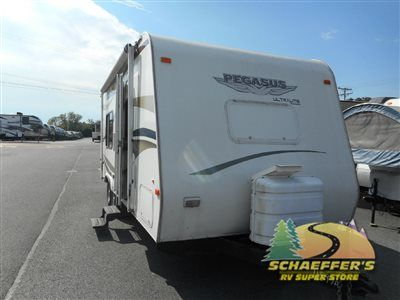 Used 2008 Fleetwood RV Pegasus 210FQ Travel Trailer at Tom Schaeffer's RV Superstore | Shoemakersville, PA | #11597A