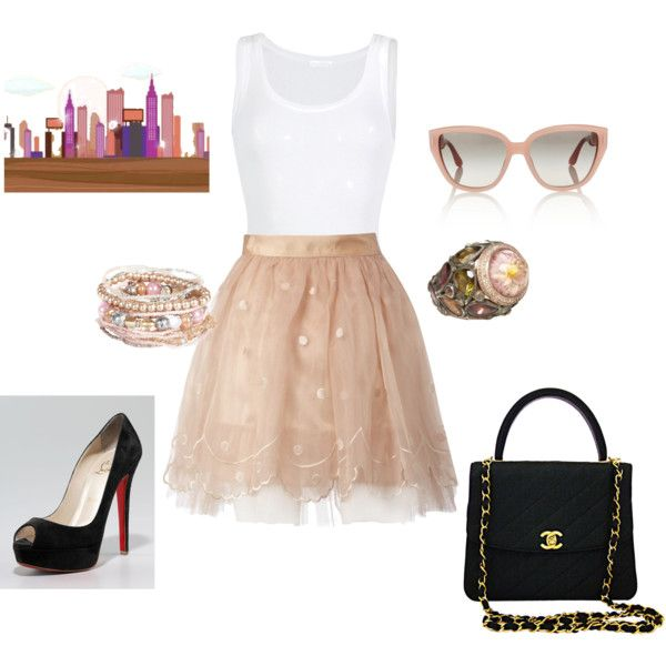 Thinking of Carrie Bradshaw!!, created by ejcamp.polyvore.com
