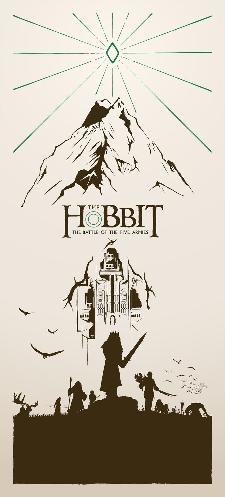 The Hobbit: Battle of the Five Armies Poster - Created by Kevin Collert