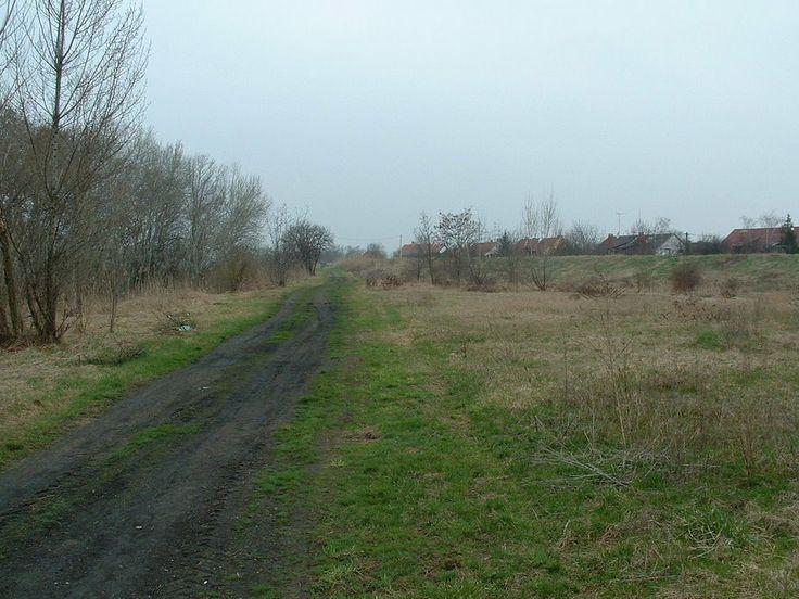Az egykori SzGV nyomvonala / Place of old SzGV