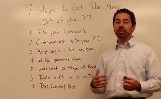 PHYSIO ANSWERS: 7 Steps to Get the Most Out of Your PT Experience. Pinned by SOS…The Stepping Stones Group