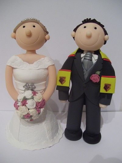 16 Best Images About Football Themed Wedding Cake Toppers On