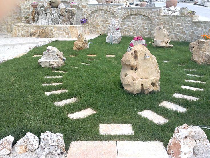nostra esposizione fontane in pietra