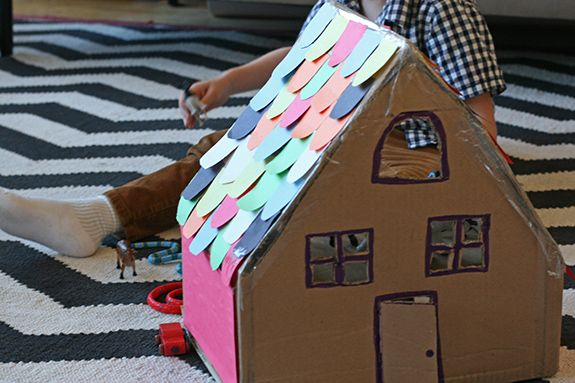 A Cardboard Box House | Say Yes to Hoboken