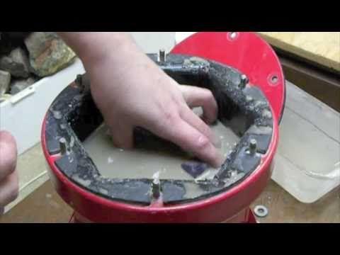 Rock Tumbling:  The Livingstone Method part 1