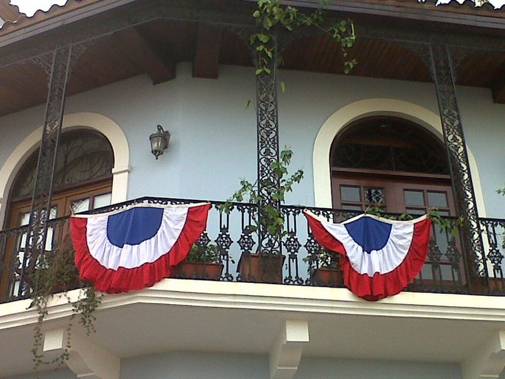 French style... or is it New Orleans? Casco Viejo, Panama!
