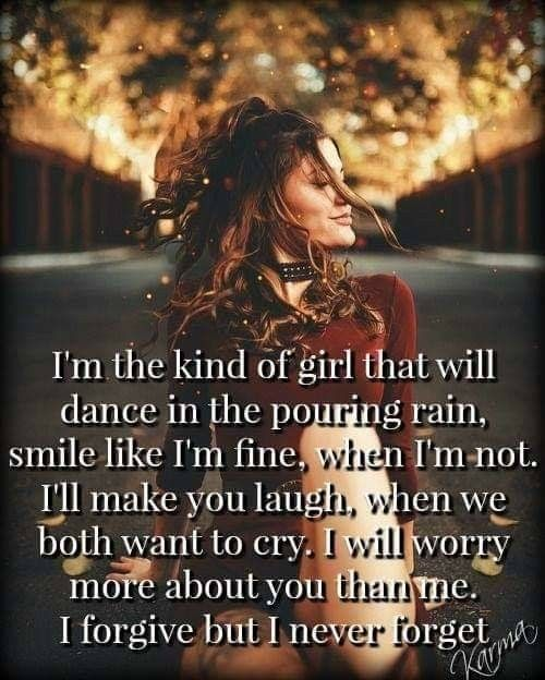 I'm the kinda girl | I'm just Sayin' | Quotes, Love Quotes, Best