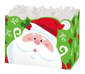 "Large Box Jolly Santa 10.25"" x 6"" x 7.5""-47343"