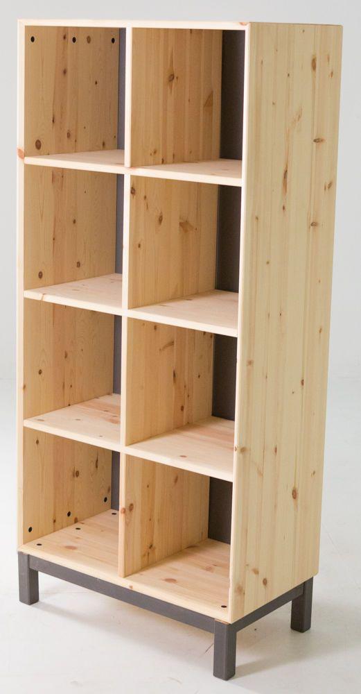 Ikea Nornäs Bookshelves #IKEA #Contemporary