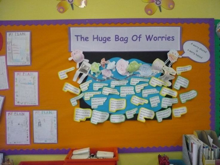 A Huge Bag Of Worries Encourage Children To Let Go Of