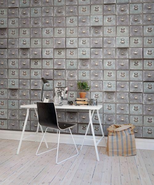 look at this wallpaper from Rebel Walls, Archive! #rebelwalls #wallpaper #wallmurals