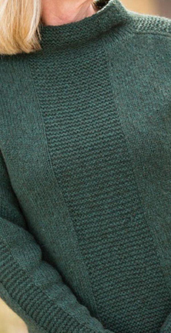 Вязание свитера спицами сверху
