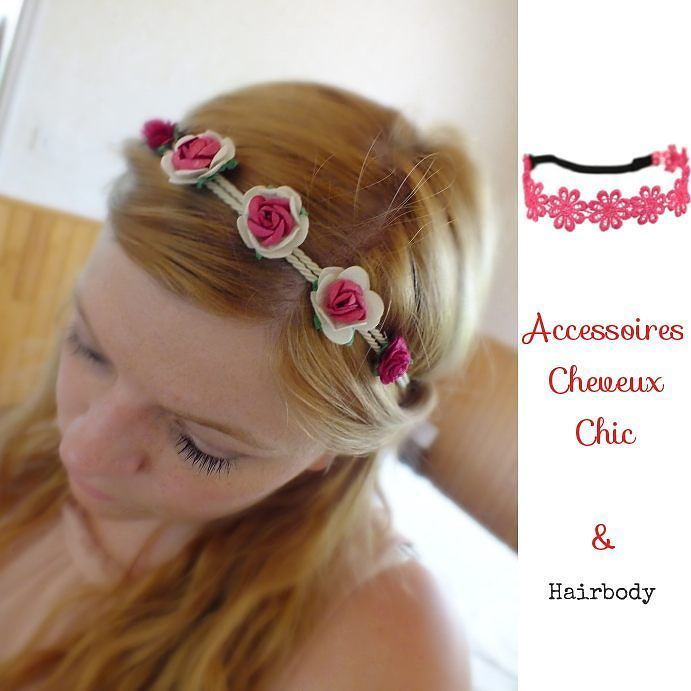 Des fleurs dans les cheveux. #headband #flowers