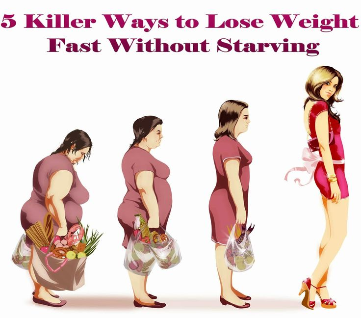 5 Killer Ways to Lose Weight Fast Without Starving