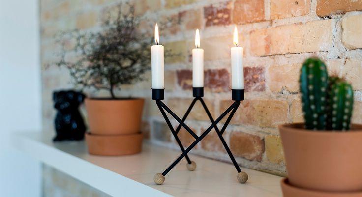 North Star candlestick