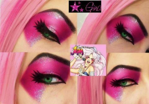 Jem and the Holograms Makeup - The best I've seen so far