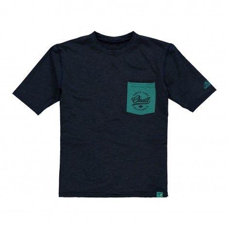 O'Neill Pocket Surf Short Sleeve Skin UV shirt junior ink blue De Wit Schijndel