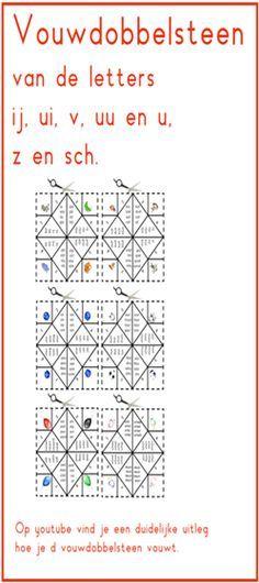 Lijn 3, 6 vouwdobbelstenenj te gebruiken bij Thema 5 - Digibord Onderbouw