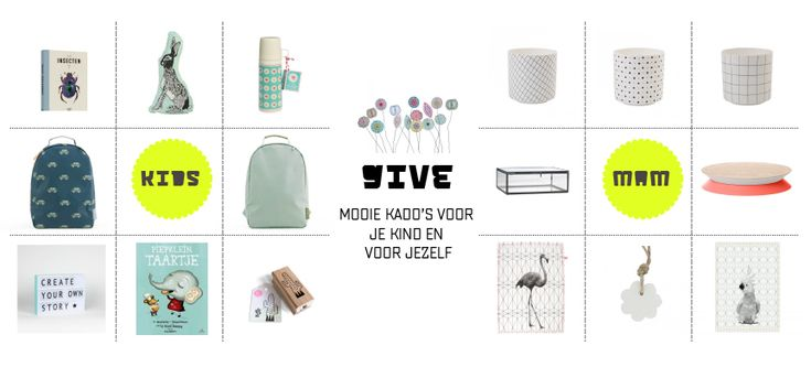 ★ G I V E  |  kinderwinkel-online.nl | presents for adults and children