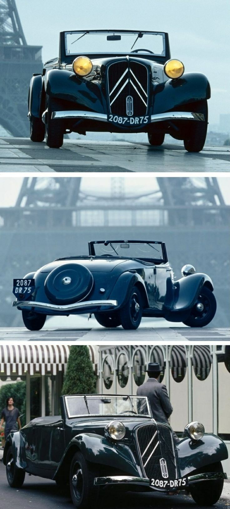 1938 citro n traction avant cabrio one of my favorite cars maybe more than the
