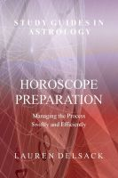 Cover: Horoscope Preparation - Managing the Process Swiftly and Efficiently