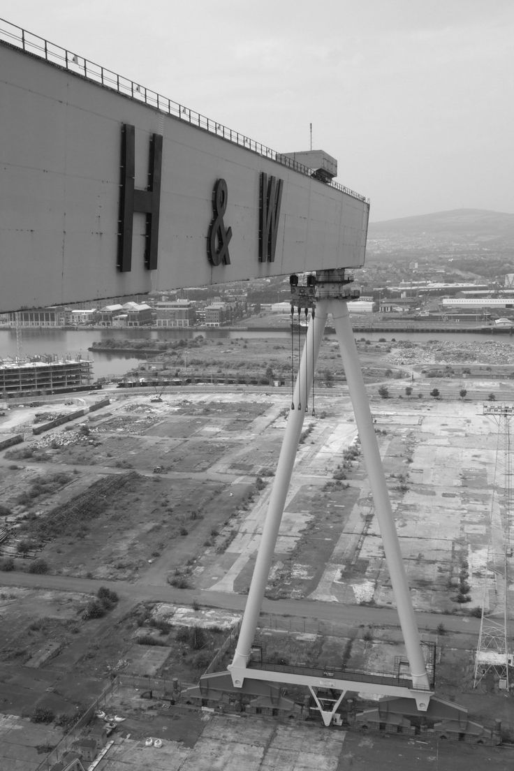 A4 Harland and Wolff crane by BelfastTimes