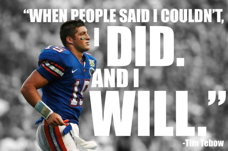 Tim Tebow Inspirational Quotes: Oh Tim Tebow The Wise. Haha No Really It's No Amazing How