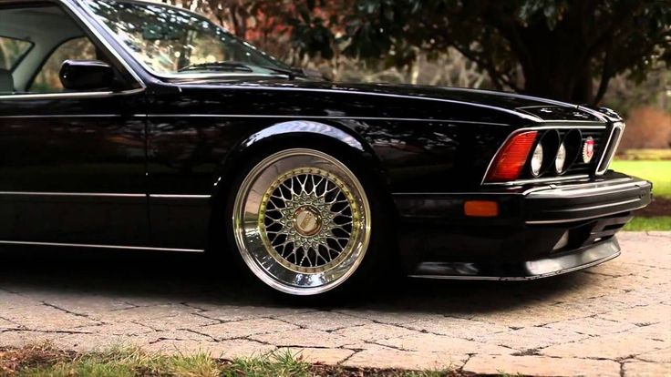 Slammed Bmw e24 M6 HD
