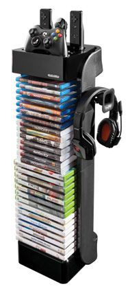Boxshot: RT Controller Storage Tower with Headset Holder by LevelUp